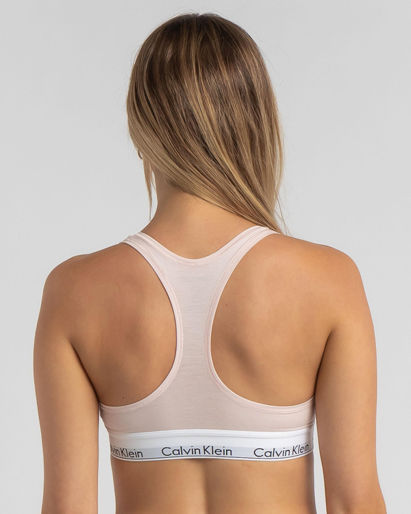 Calvin Klein Cotton Unlined Bralette for Womens image number null
