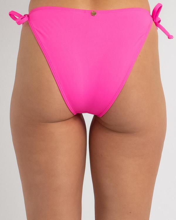 Kaiami Lara Tie Side Bikini Bottom for Womens image number null