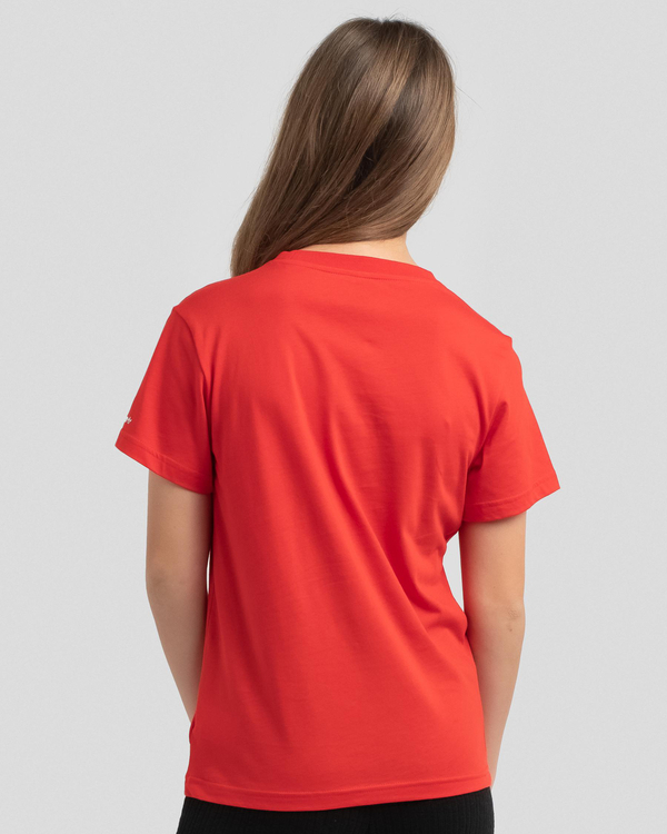 Adidas Girls' Trefoil Print T-Shirt for Womens image number null