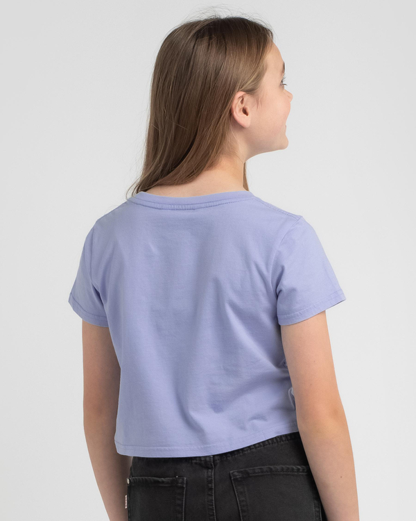 Rusty Girls' Essentials Cropped T-Shirt for Womens image number null