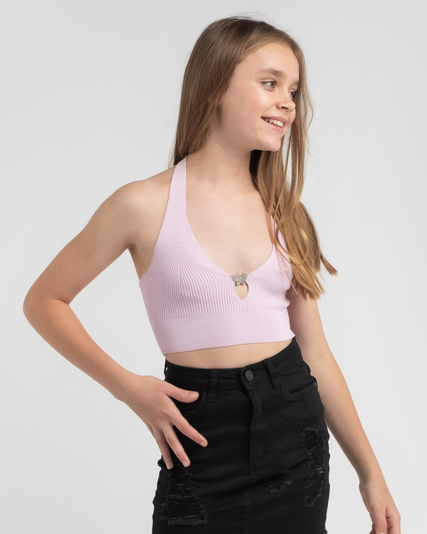 Mooloola Girls' As If Knit Top for Womens image number null