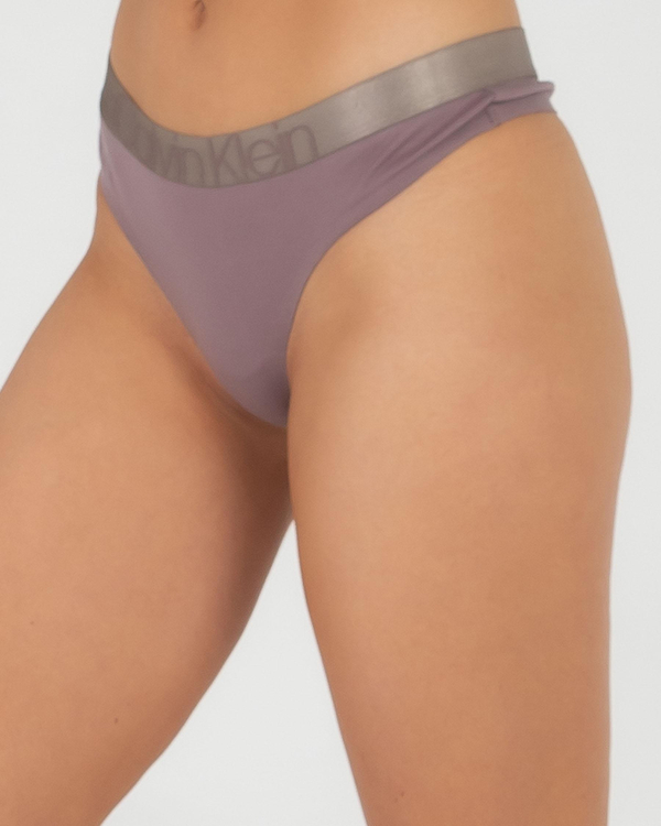 Calvin Klein Underwear Icon Cotton Thong for Womens image number null