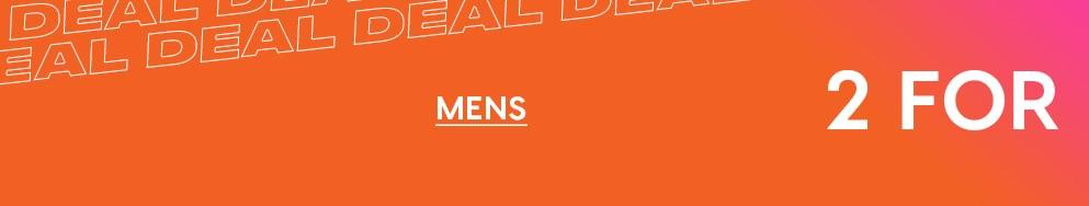Shop Mens Deals